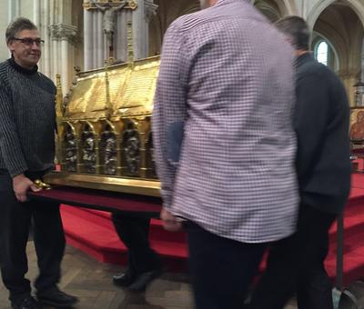 Benediction stele Nouvelle Confrerie 1 nov 2015 02