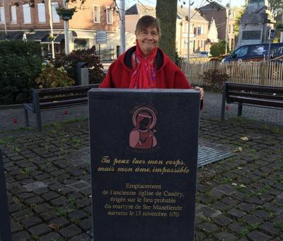 Benediction stele Nouvelle Confrerie 1 nov 2015 06