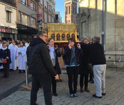 Benediction stele Nouvelle Confrerie 1 nov 2015 07