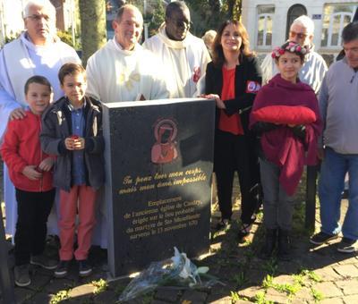 Benediction stele Nouvelle Confrerie 1 nov 2015 18