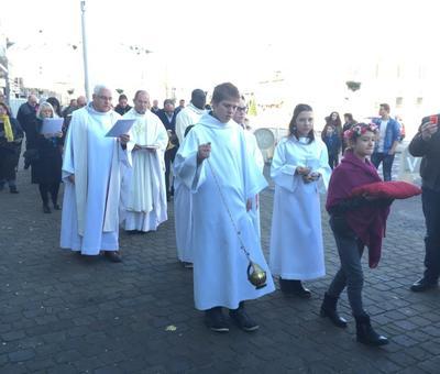 Benediction stele Nouvelle Confrerie 1 nov 2015 11