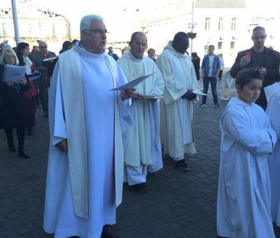 Benediction stele Nouvelle Confrerie 1 nov 2015 12