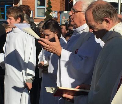 Benediction stele Nouvelle Confrerie 1 nov 2015 13