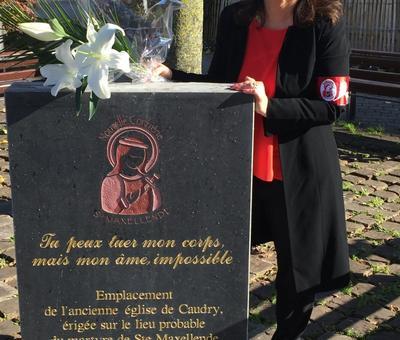 Benediction stele Nouvelle Confrerie 1 nov 2015 20