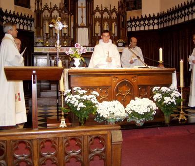 première messe christophe rousies 31 10 06 (1)