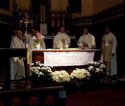 première messe christophe rousies 31 10 06