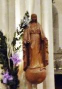 IMMACULEE statue