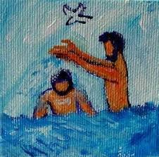 Bapteme de jesus evangile-et-peineture