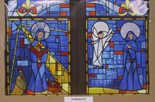 Vitraux Presbytère La Briquette