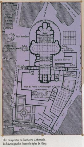 plan ancienne cathédrale