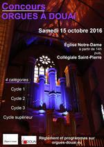 Affiche_Concours d'orgues a Douai 2016