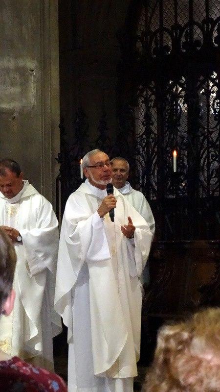 L'abbé Merville, prédicateur de la Neuvaine