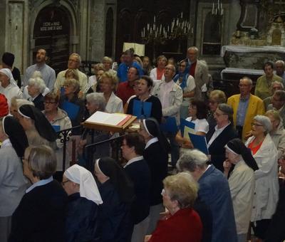 la chorale ¨Guillaume du Faÿ