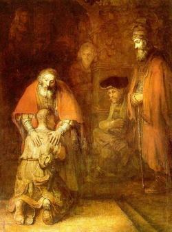 le fils prodigue rembrandt