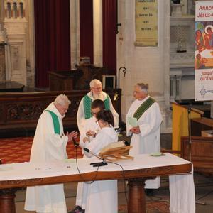 Messe d'au revoir abbé Périau