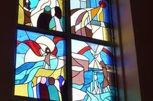 Mairieux-vitrail 11 St Jean-Baptiste