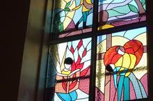 Mairieux-vitrail 12 vivre en baptise