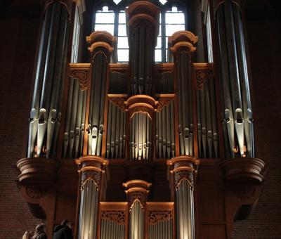 Le bel orgue de Notre-Dame...