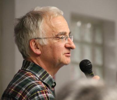 Pierre-Yves Motte qui évoque la dernière mission..