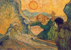 La resurrecction de Lazare_Van Gogh