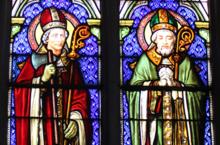 Vitrail St Saulve et St Martin