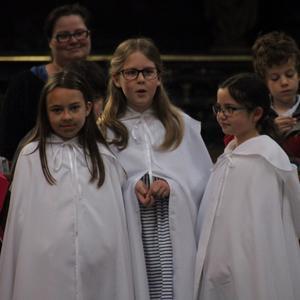 Une partie du chœur Notre-Dame.