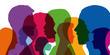 Silhouettes - Tête - Profils - Entreprise - Popula
