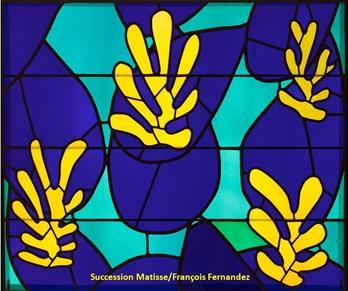 Matisse essai vitrail