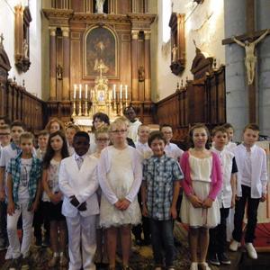 1ères communions le 28-05-2017