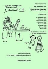 Affiche_Messe des petits 2017-2018