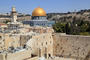 Jerusalem, Dome of the Rock and Western Wall