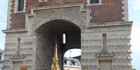 """temps de prière à la """"porte Notre-Dame"""""""