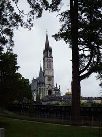 Notre Dame de L'Immaculé Conception au sanctuaire de Lourdes