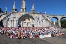 Le diocèse à Lourdes