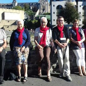 Quelques pélerins de Saint Martin en Ostrevant