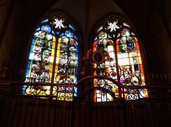 vitraux de la cathédrale Saint Cyr/Sainte Julitte