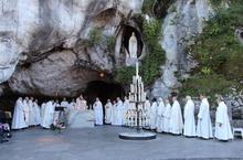 Lourdes messe grotte coup de coeur