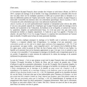 Amoris laetitia vu par les évêques belges