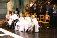Les enfants ont reçu la lumière de Dieu