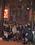 le groupe devant la peinture de la Pentecote