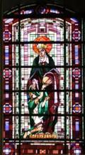 vitrail ste Elisabeth de Hongrie