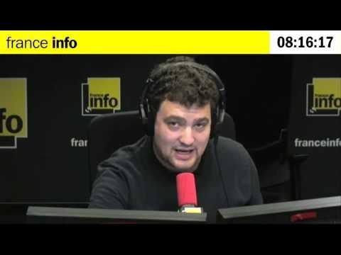 Journaliste à France-Info
