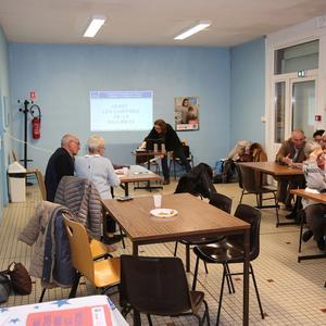 Café débat à Vieux Condé / Fresnes sur Escaut. 1