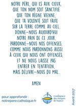 Notre Pere ( Verso bleu)