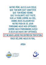 Notre Pere ( Verso version 2)