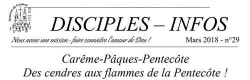 disciples-info entete