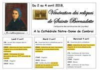 Reliques Ste Bernadette  (texte surligne)