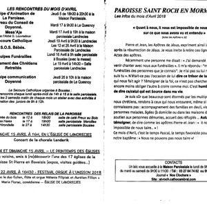 Previsions mensuelles Saint Roch en Mormal recto 0