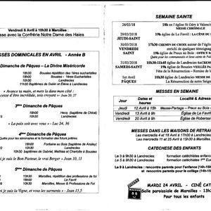 previsions mensuelles avril saint Roch en Mormal v