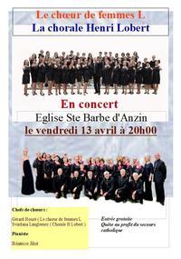 Concert Henri Lobert 13 avril